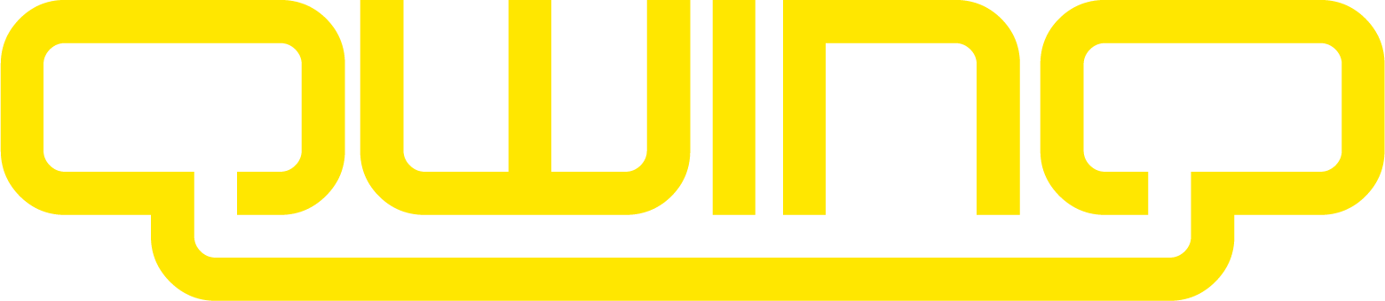 Qwinq logo geel